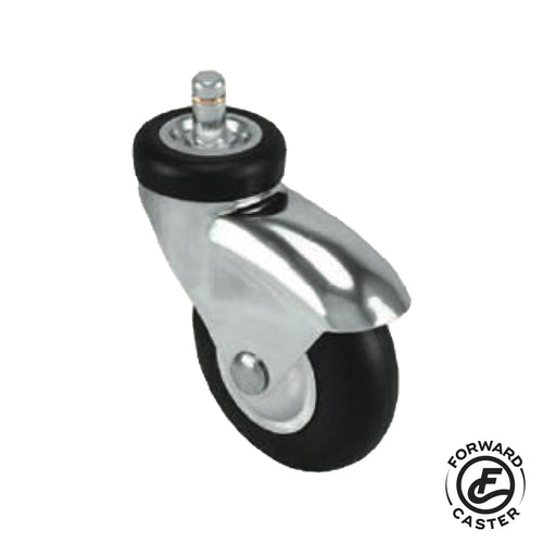 "3"" Neoprene Rubber Swivel Caster"