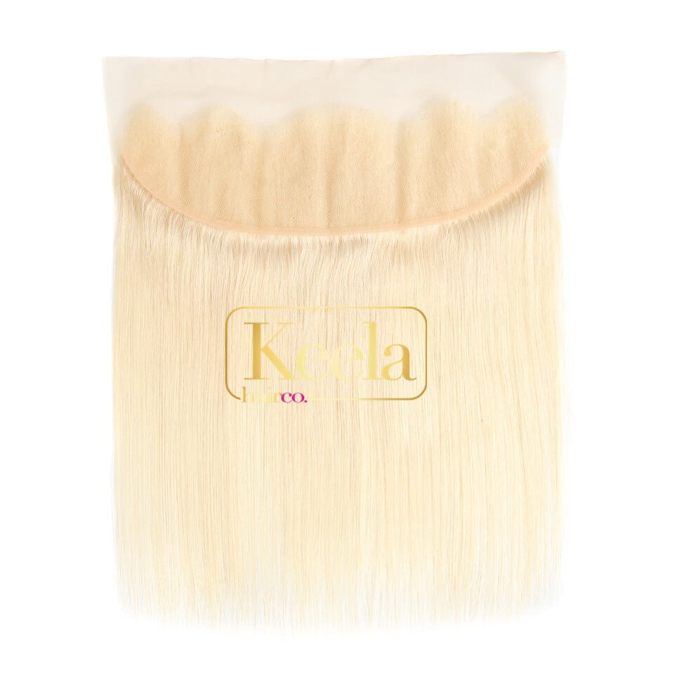 Straight Blonde Lace Frontal(Raw Cambodian)