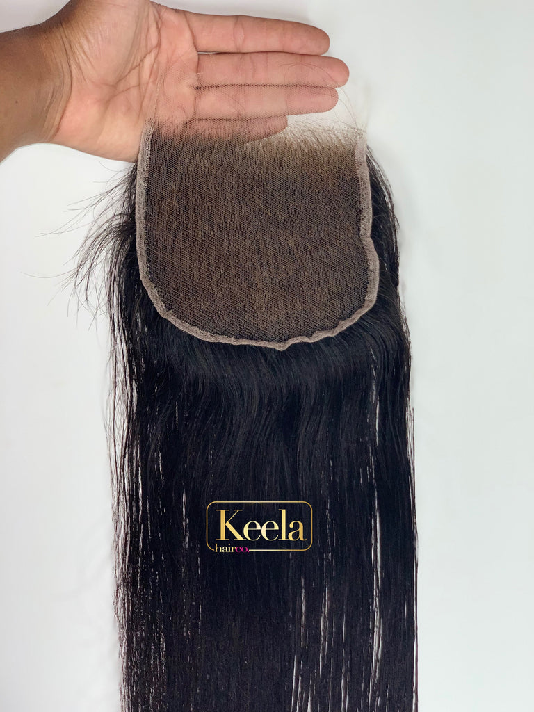 "Invisible hd flim lace closures (6""x 6"")"