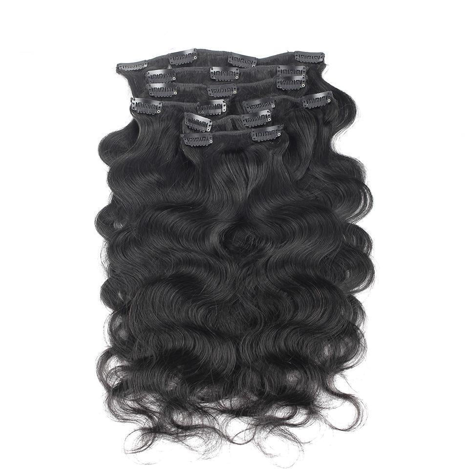 Body Wave Clip ins ( Raw Cambodian)