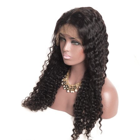 BLACK DEEP CURLY WIG