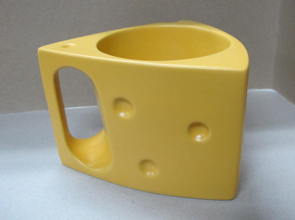 Cheesehead Ceramic Wedge Cup