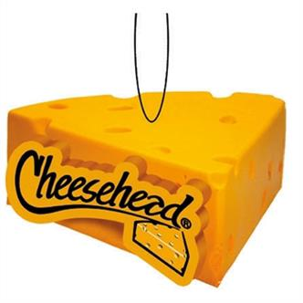 Cheesehead Wedge Ceramic Ornament