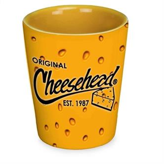 Cheesehead shot glass