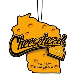 Cheesehead State of WI Ornament