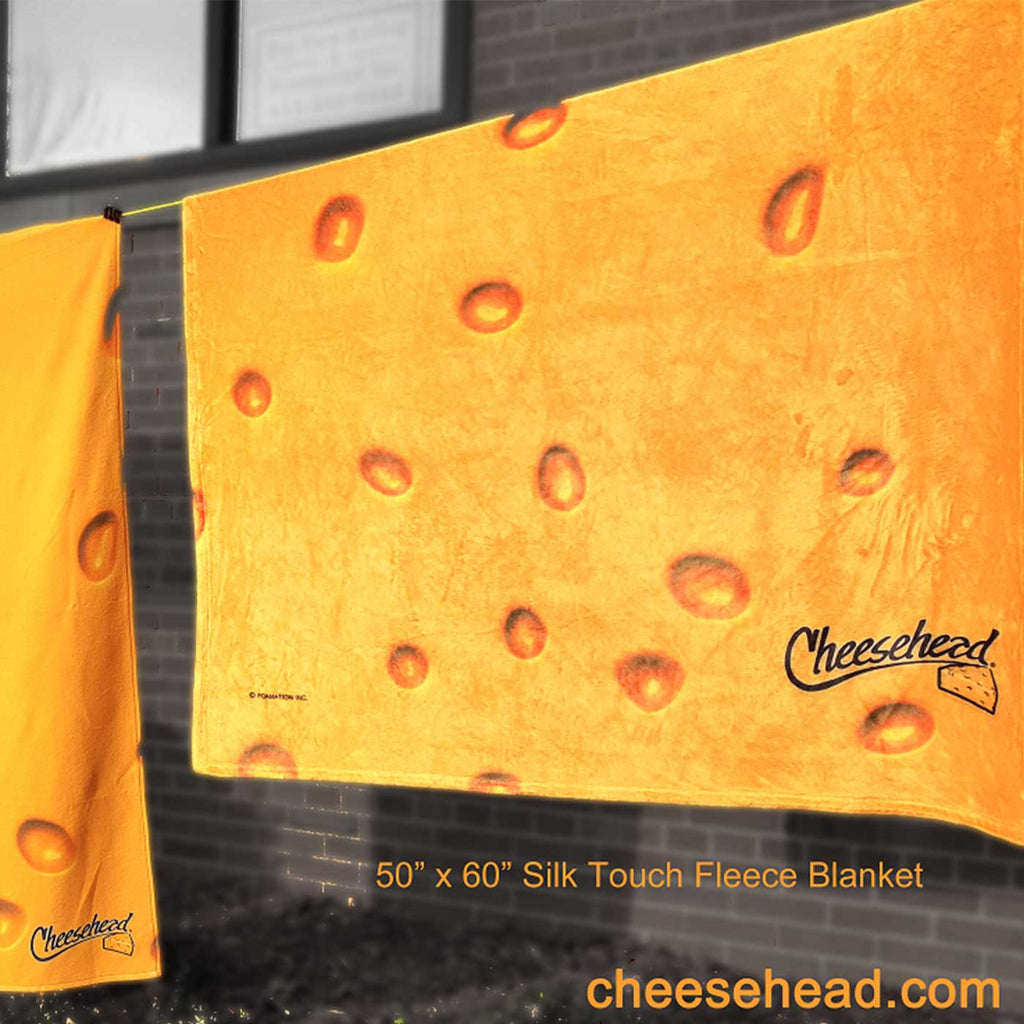 Cheese Fleece Blanket