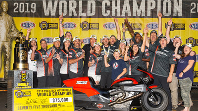 ANDREW HINES WRAPS UP RECORD-TYING SIXTH NHRA PRO STOCK MOTORCYCLE CHAMPIONSHIP