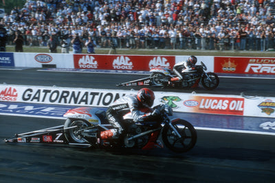 Andrew Hines Scores First Pro Stock Motorcycle Win at 2004 Gatornationals