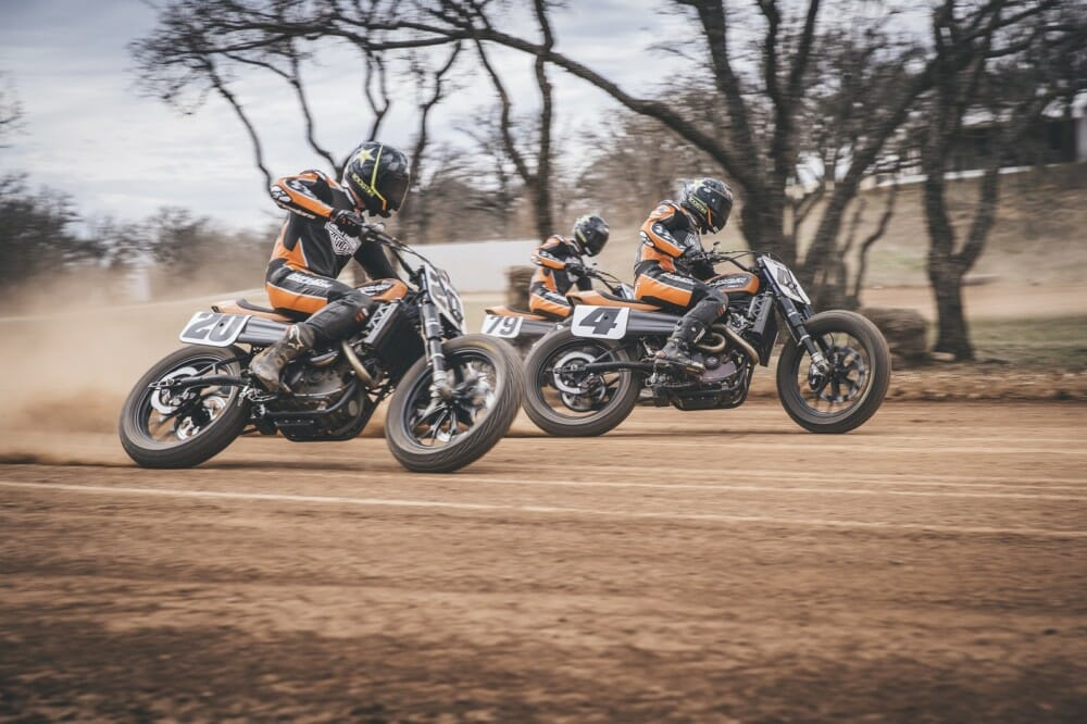 Harley-Davidson Factory Flat Track Team Ready for 2020 AFT SuperTwins