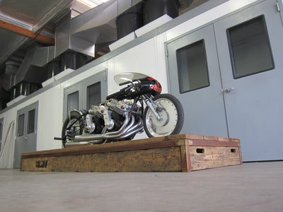Vance & Hines Top Gas Drag Bike