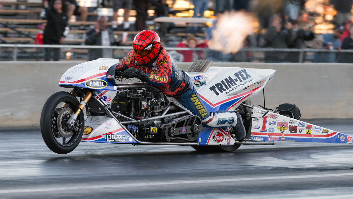 "LARRY ""SPIDERMAN"" MCBRIDE SHATTERS WORLD RECORDS! 5.50, 264 MPH STUNNER!"