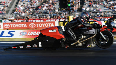PRO STOCK MOTORCYCLE RIDER OF THE DECADE: EDDIE KRAWIEC