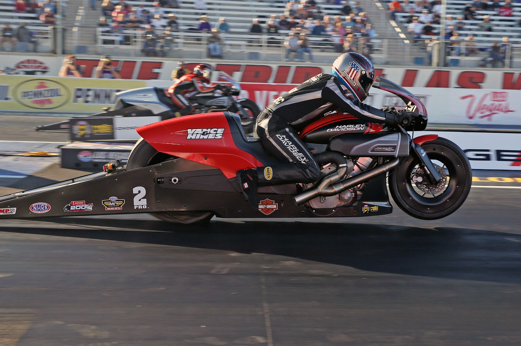 NHRA Pro Stock Motorcycle Racing