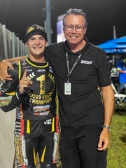 James Rispoli with Terry Vance