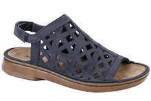 Load image into Gallery viewer, AMADORA NAVY SANDAL