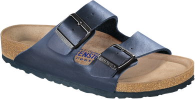 Arizona Soft Footbed Blue Birko-Flor
