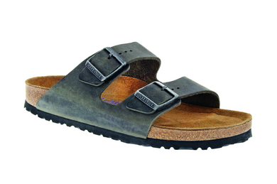 Arizona Soft Footbed Iron Oiled Leather