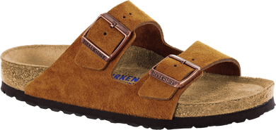 Arizona Soft Footbed Mink Suede