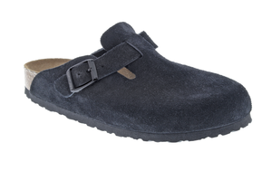 Boston Soft Footbed Black Suede