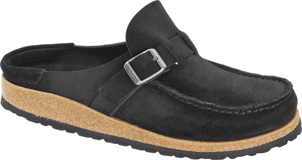 Buckley Black Suede