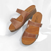 Load image into Gallery viewer, JACEY LATTE SANDAL WIDE