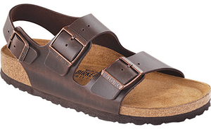 Milano Soft Footbed Brown Amalfi