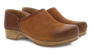Brenna Tan Burnished Suede