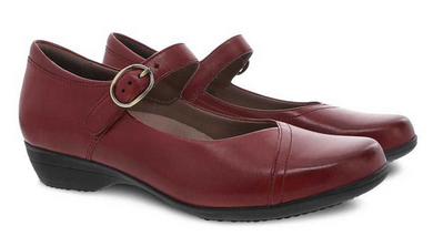 Fawna Red Burnished Calf