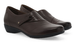 Franny Chocolate Burnished Calf