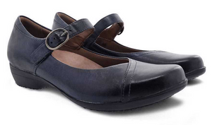 Fawna Navy Burnished Calf