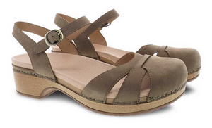 Betsey Taupe Milled Nubuck