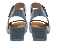 Load image into Gallery viewer, Tiana Teal Leather Sandal