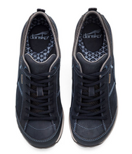 Load image into Gallery viewer, Paisley Navy Milled Nubuck