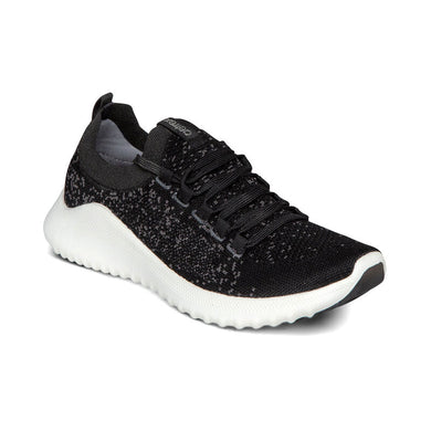 CARLY BLACK ATHLETIC SHOE
