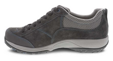Load image into Gallery viewer, Paisley Grey/Blue Suede