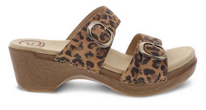 Sophie Leopard Suede
