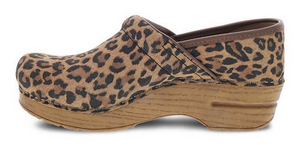 Professional Leopard Suede
