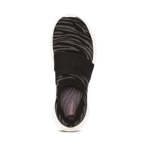 ALLIE BLACK SLIP-ON