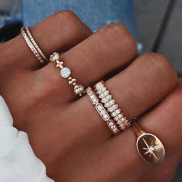 Fashion Finger Ring Sets ⭐️⭐️⭐️⭐️⭐️ -