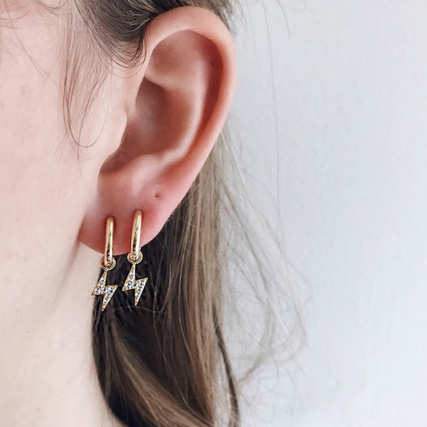 Lightning Gold Earrings ⭐️⭐️⭐️⭐️⭐️ -