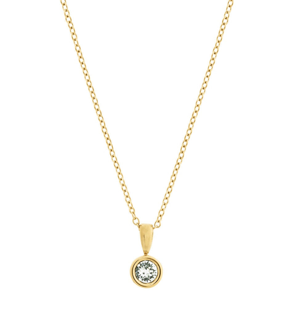 DEW DROP NECKLACE GOLD