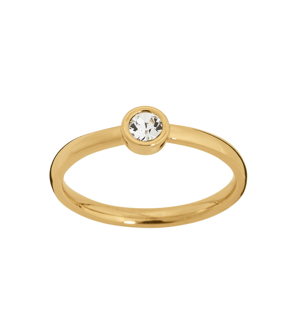 DEW DROP RING GOLD