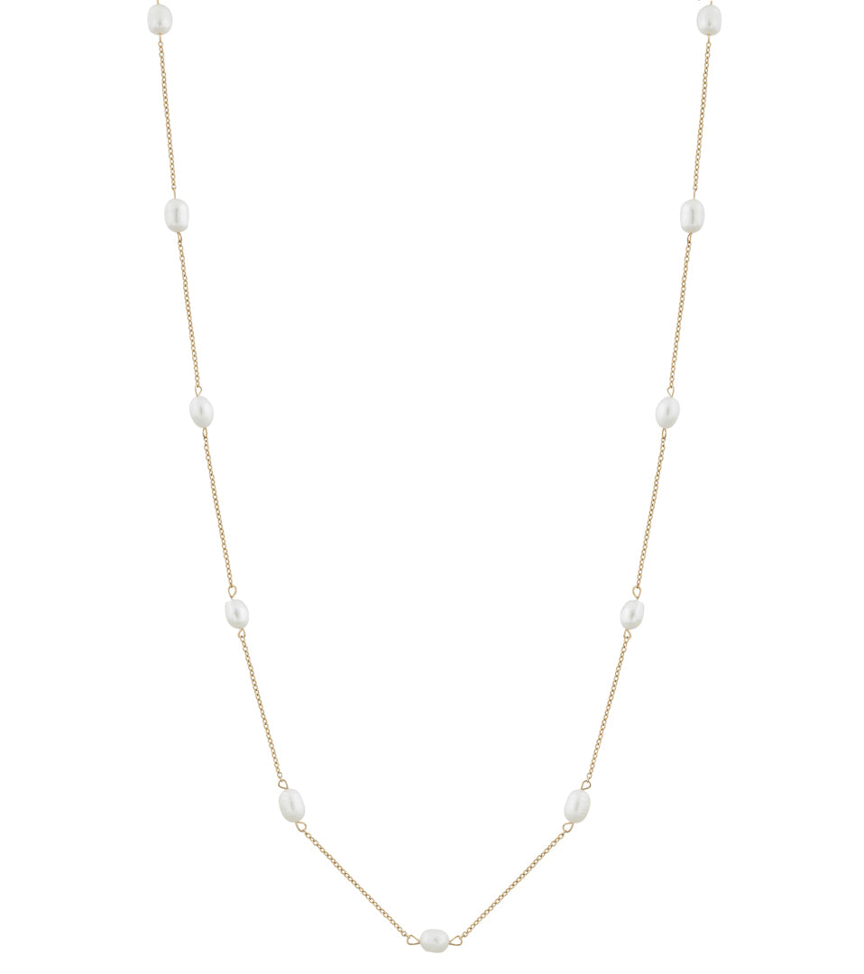 PERLA NECKLACE MULTI LONG GOLD