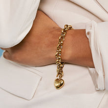 Load image into Gallery viewer, BARLEY BRACELET CHUNKY CHAIN GOLD