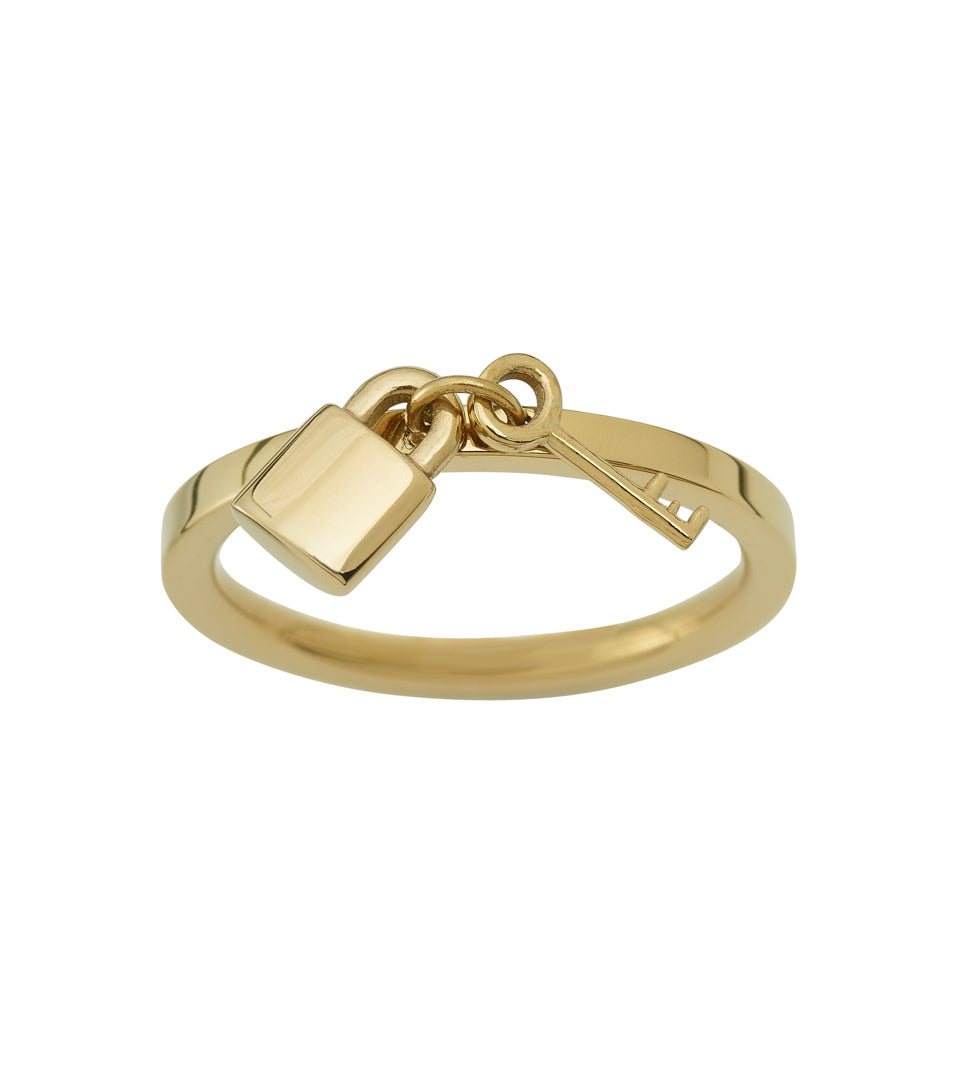 SECURE RING GOLD