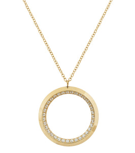 ZINNIA NECKLACE L GOLD
