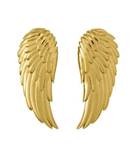 Load image into Gallery viewer, ANGEL EARRINGS LARGE GOLD