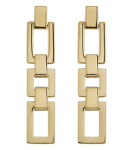 Load image into Gallery viewer, DECO EARRINGS GOLD