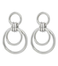 Load image into Gallery viewer, ELSIE EARRINGS LARGE STEEL