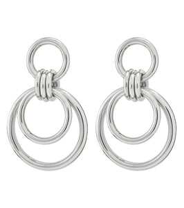 ELSIE EARRINGS LARGE STEEL